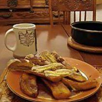 Receta de Plátanos Flameados con Salsa de Café