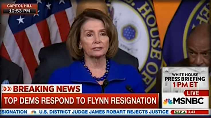 WATCH NANCY PELOSI LOSE HER MIND ON LIVE TV… SHE SHOULD BE FIRED FOR THIS!