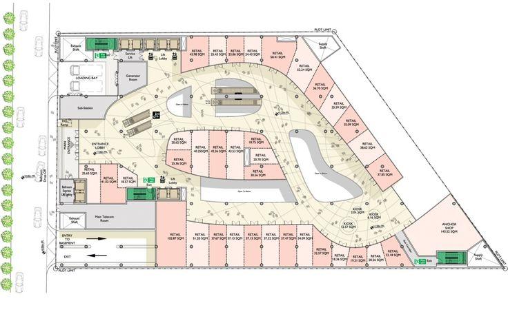 05_Parmis Shopping Mall_Floor Plan                                                                                                                                                                                 Más