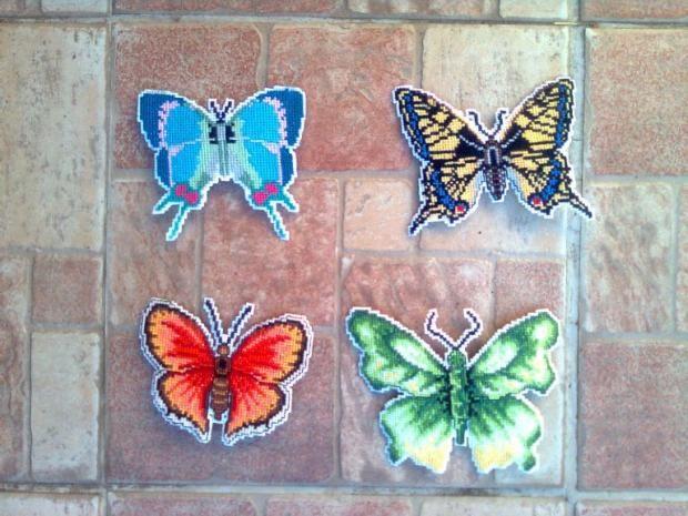 Vyšívané motýle od Maja66 | Motýle, Vyšívanie | Artmama.sk