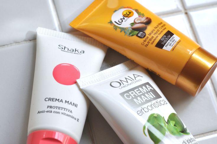 3 Creme mani a confronto: Protettiva Shaka, All'olio di jojoba Omia Laboratoires & Nutriente Lovea   Il Blog di I.