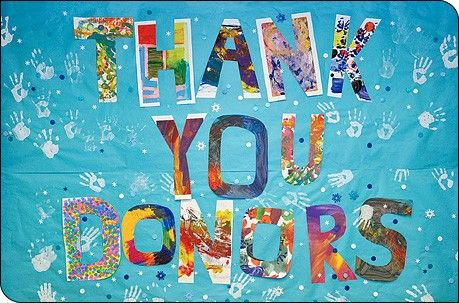Web Thank You Donors | grands | Pinterest