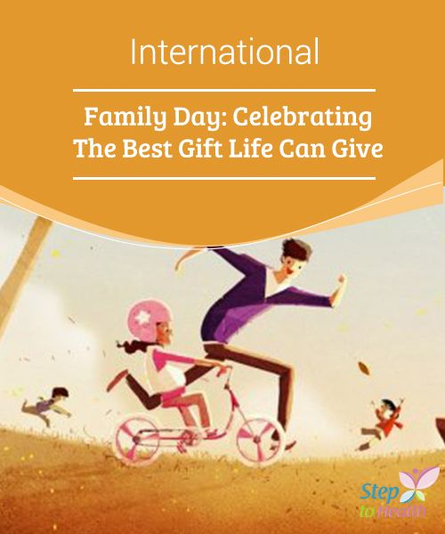 "International #Family Day: Celebrating The Best Gift Life Can Give   You may think ""family"" is limited to your blood #relatives, but you can also include your close friends. How will you celebrate #International Family #Day?"