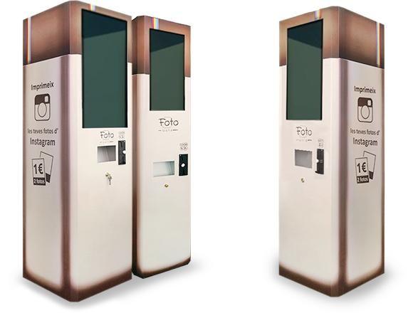 Las #RedesSociales apuestan x el #vending: Una maquina para imprimir fotos de #instagram!