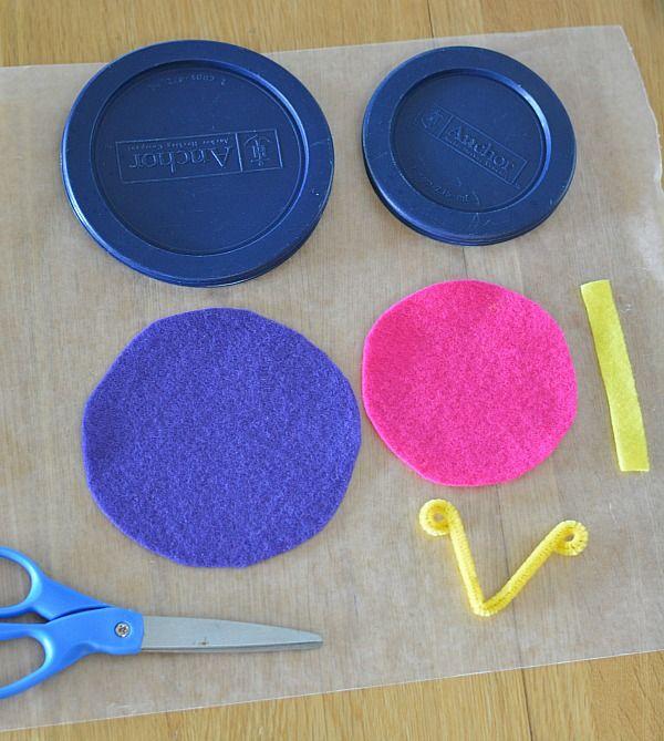 No Sew Felt Butterfly Craft Materials Needed