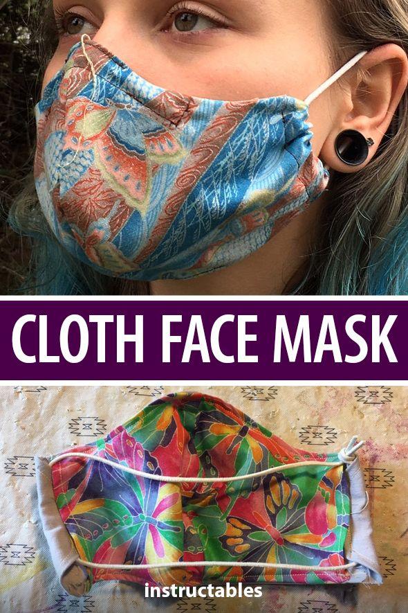 Diy Cloth Face Mask Face Mask Diy Face Mask Mask