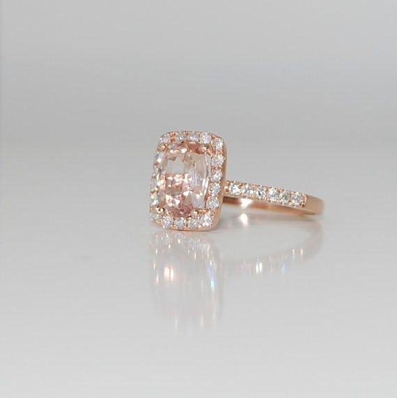 17 Best ideas about Peach Champagne Sapphire 2017 on Pinterest | Peach  champagne ring, Champagne sapphire rings and Peach diamond ring