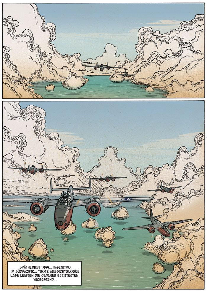 Comic - Jared Illustrations
