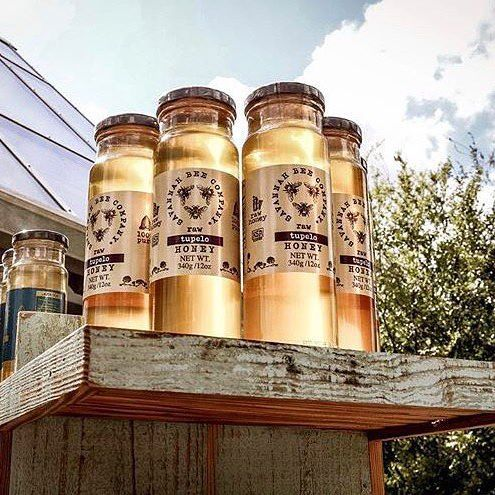 What's all the buzz about? Tupelo #honey from @savannahbeeco! Find them in The Landing near Cookes of Dublin.  (photo: @mckinleyhphotos) #DisneySprings #SavannahBee
