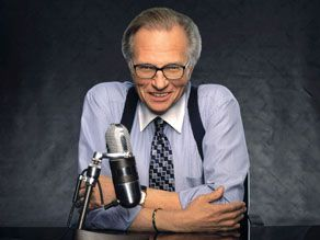 """Dec 16 - ON THIS DAY in 2010, Larry King, the iconic, suspenders-sporting host of the TV talk show """"Larry King Live,"""" signed off after 25 years on CNN."""