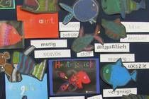 Gefühle malen: Grundschule Schiltberg