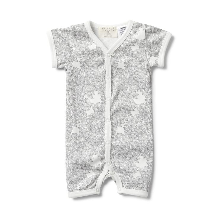 Our all-in-one grow suits are made from 100% cotton to keep baby comfy and cool on those hot summer days.  #wilsonandfrenchy #babystyle #newborn #growsuit #baby #fashion #unisex #babylove #perfectbabies  #unisexbabyclothes  #newmum #babygift #babyshower #australiandesign #shopbaby #mumsunite #babylove #magicofchildhood #little