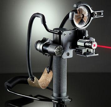 Survival Slingshot Archery Complete with Laser www.survivalslingshot.com