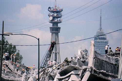 Terremotos en Mexico, 1985