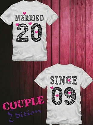 Couple married tee