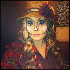 womens scarecrow costume - Google Search Halloween makeup ideas costume ideas