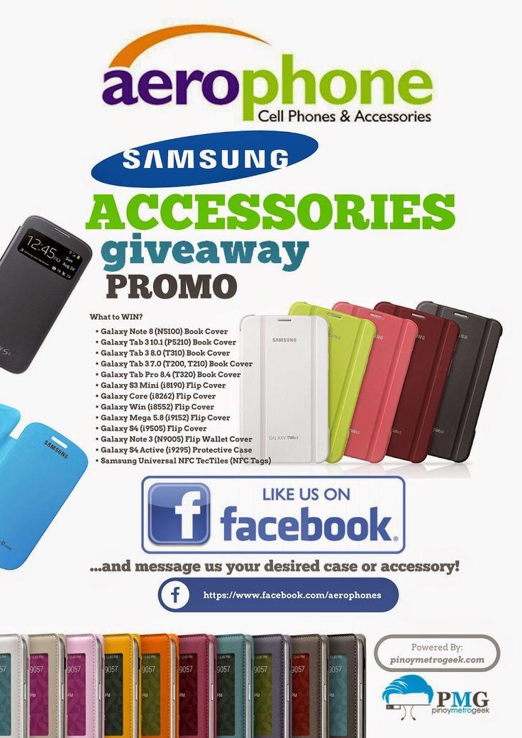 Aerophone Samsung Accessories Giveaway Promo Week 3 Like