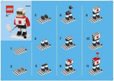 LEGO Monthly Mini Model Build: February 2012
