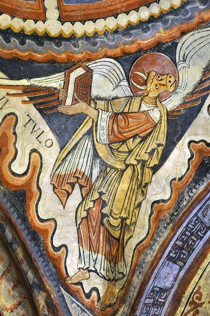 Románico  (Murals del Panteón de San Isidoro de Lleón) ,  Spain