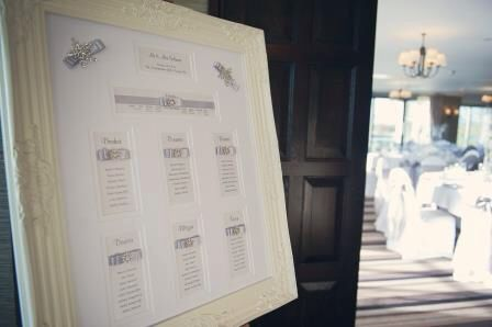 Stunning table plan by the talented Fuchsia Fairy