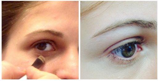antes y después como disimular las ojeras #Belleza #beauty #ojos #eyes #blogger #blog #etniacosmetics