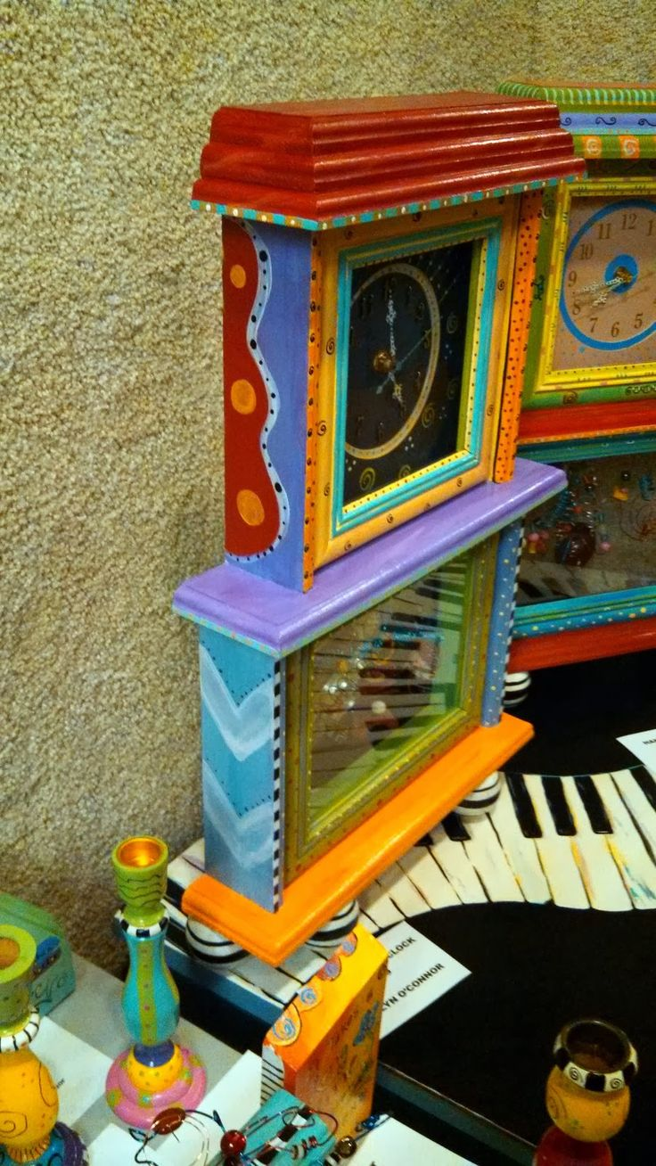 art display at noyes galery by carolyns funky furniture diys furniture paintings furniture carolyn funky furniture