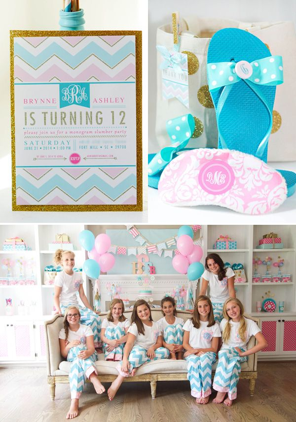 179 best Pijama Party images on Pinterest Party ideas Birthdays