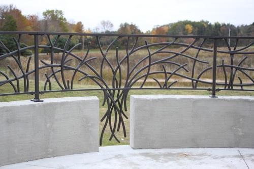 Metal Features / Blacksmithing - contemporary - spaces - milwaukee - Design Group Three
