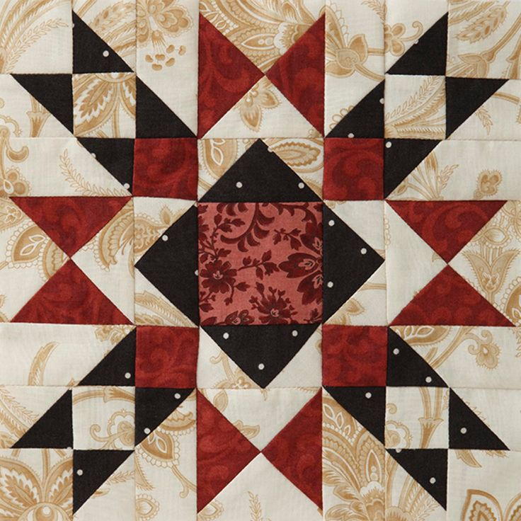 Join our Block of the Month! Once a month starting in May, we'll release a  new block pattern. By Christmas, you'll have a beautiful (and finished)  quilt!
