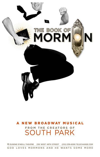 Book of Mormon New Broadway Musical Poster 11x17