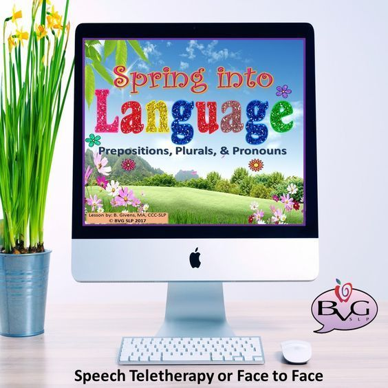Speech Teletherapy, NO PREP, NO PRINT, DIGITAL solutions great for remote or face to face speech and language therapy sessions.