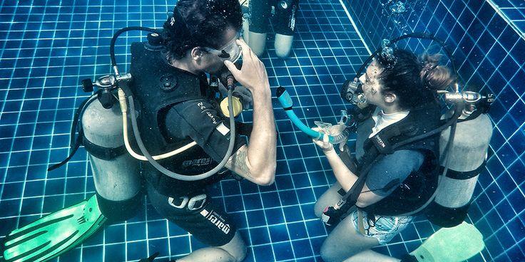 PADI Divemaster skills - Crystal Dive Koh Tao