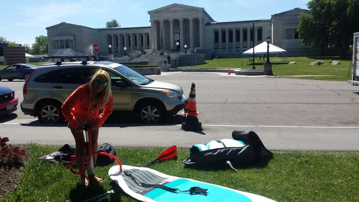 Have a Red Paddle Board will travel just 4 minutes down the road from the store.