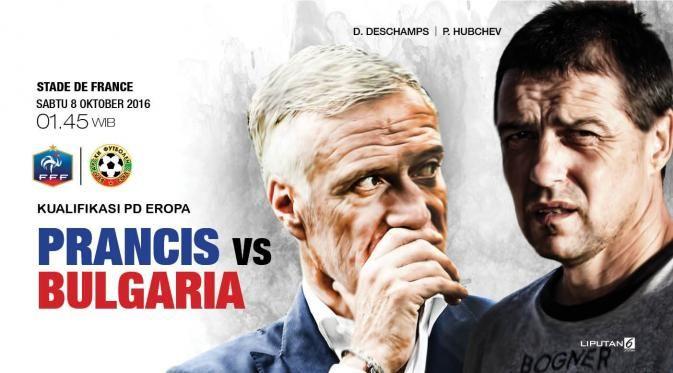 Prancis vs Bulgaria Tuan Rumah Wajib Menang - Bola Liputan6.com