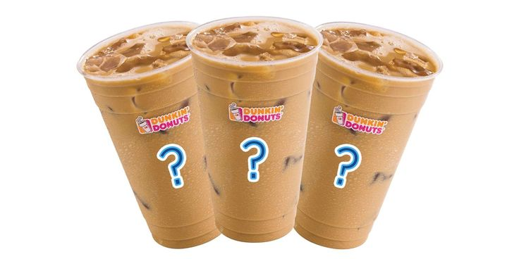 All of Dunkin' Donuts' Iced Coffee Flavors, Ranked # ...
