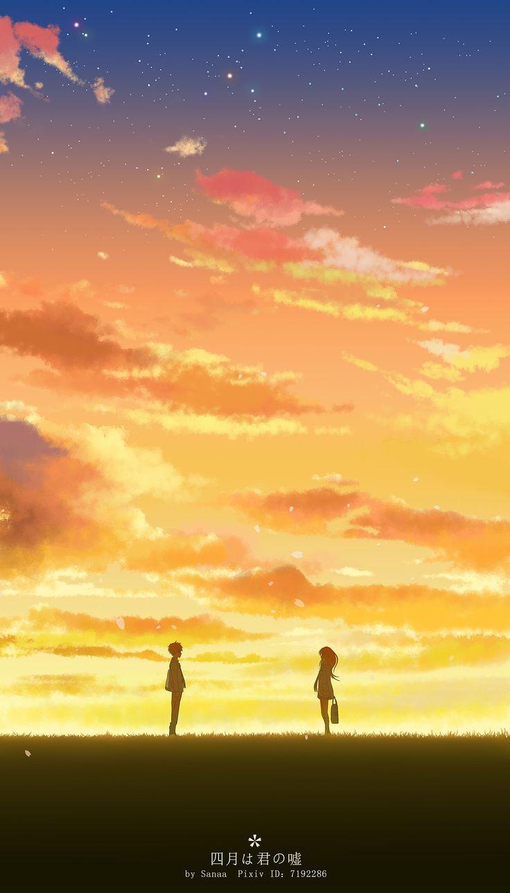 Shigatsu wa Kimi no Uso | Your Lie in April | Kawori Miyazono x Kousei Arima | OTP | Anime | Fanart | SailorMeowMeow