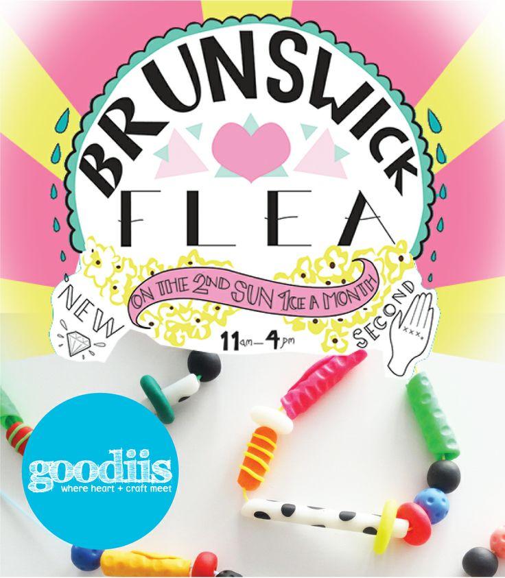 Goodiis at the Brunswick Flea Market this Sun 13th April @ 7 Dawson Street Brunswick, 11am - 4pm! (Stall 9). Maria x  www.goodiis.com