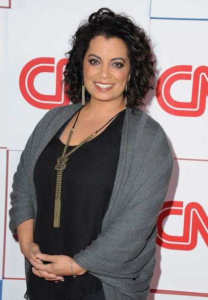 michaela pereira   Michaela Pereira - CNN Worldwide All-Star 2014 Winter TCA Party