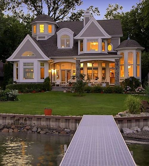 """Not TOO big, but """"architectually"""" interesting and quite charming <-- true, it's not the size but all the details that make this home so lovely"""
