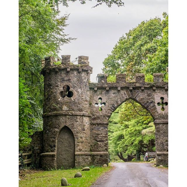 Tollymore Forest Park in County Down in Northern Ireland holds 600 hectares of ancient redwoods as well as Gothic stone arches, the remnants of an 18th century estate. Many Game of Thrones scenes were filmed here! || Photo by The Travel Tester