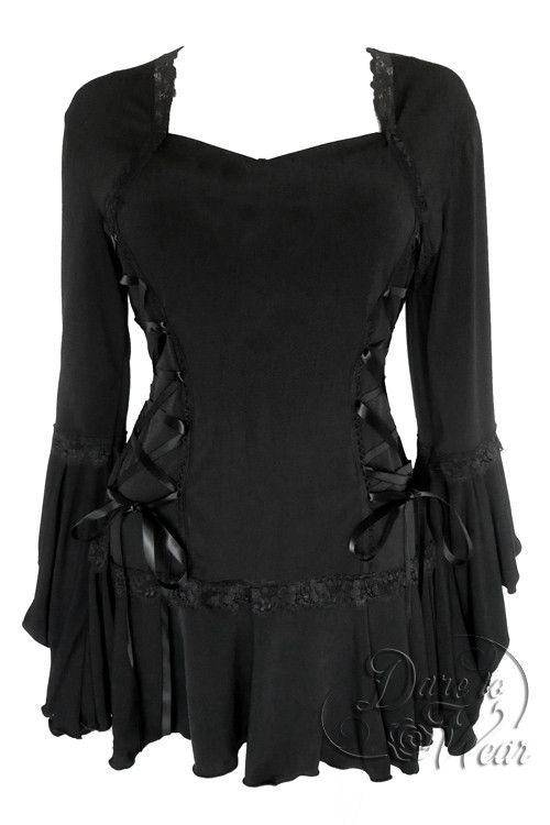 Bolero corset top - another perfect style for Halloween costumes - Wicked witch, good witch, fairy, pirate, warrior princess, and many more!
