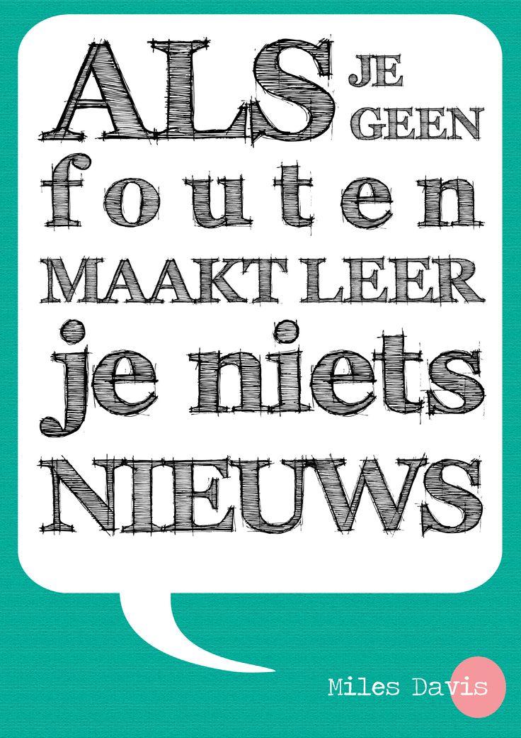 poster voor de leerafdeling 2013