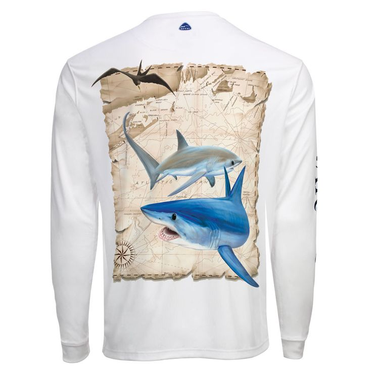 Men's OTP UV Shirt: NE Sharks