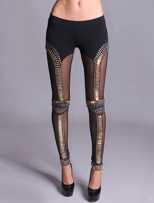 Sass and Bide studded leggings