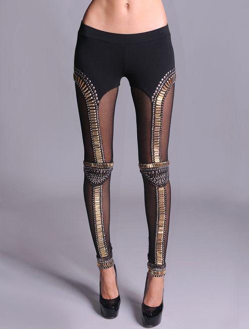 Sass and Bide studded leggings