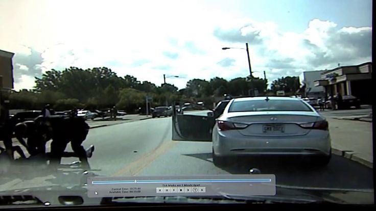 Dash cam shows violent arrest in Euclid, Ohio