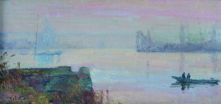 Slipway at Petit-Couronne | Joseph Delattre [1908]