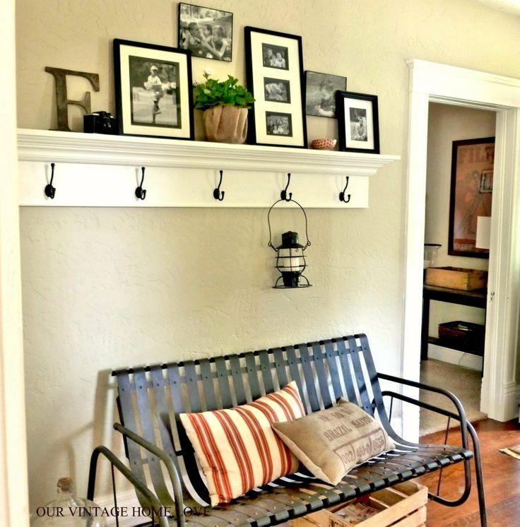 Foyer - our vintage home love: Cottage Living Inspired Ledge