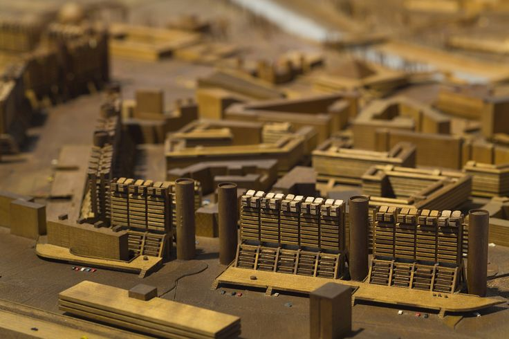 《Master Plan Reconstruction of Skopje City Center》 1965-1966 The Tange Kenzo…