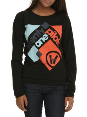 Twenty One Pilots Squares Girls Pullover Top